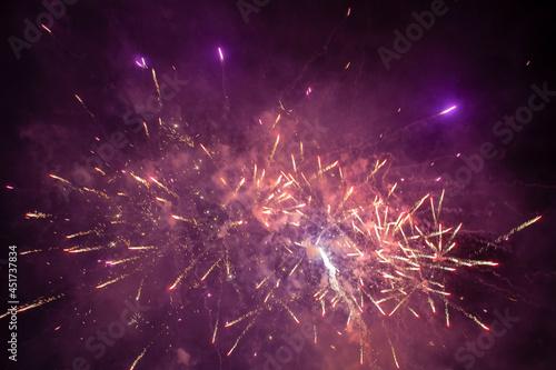 Billede på lærred Fireworks