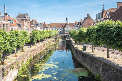 Canvas-taulu De Eem in Amersfoort, Utrecht Province, The Netherlands