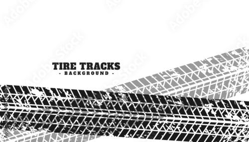 Fotografering grunge tire marks print texture background