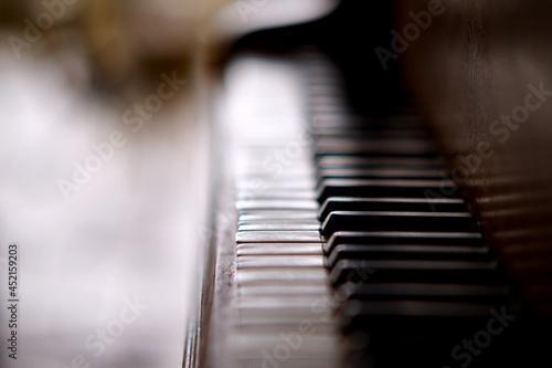 Piano touche clavier - instrument de musique Fototapet