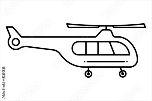 Fotografia Helicopter Icon, Chopper Icon, Helicopter Flying Vehicle, Rotorcraft