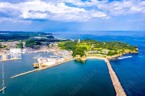 夏の小名浜港(福島県いわき市) Fototapeta