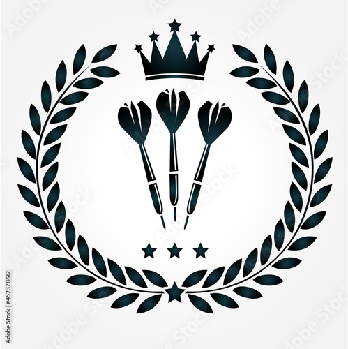 dart pfeile logo Fototapet