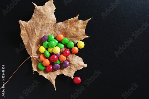 Fotomural Colorful skittles candies