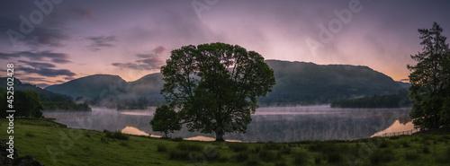 Fotografie, Obraz Dawn at Grasmere, English Lake District.