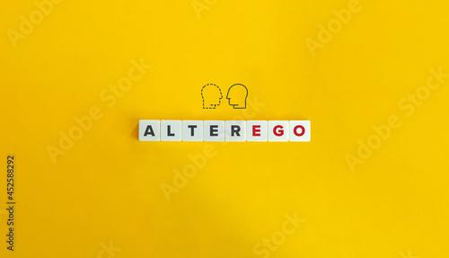 Fotografie, Obraz Alter Ego Banner.