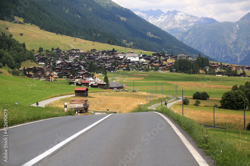 Fotografie, Obraz Munster Switzerland