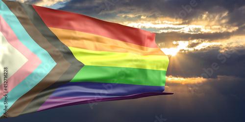 Carta da parati Gay pride sign redesign