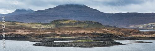 Canvas Print Seal colony panorama near Dunvegan