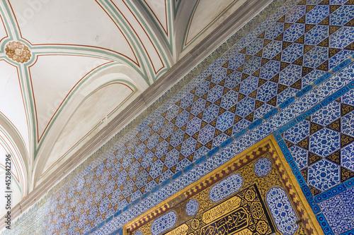Interior of the Topkapi Palace in Istanbul Fototapet