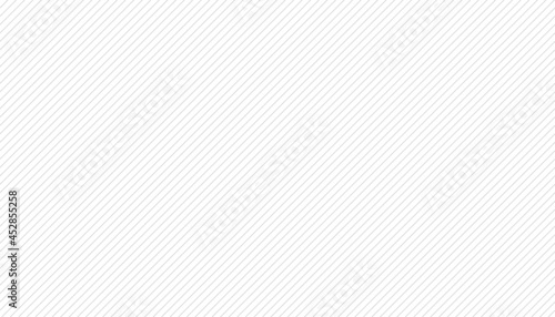 Thin lines gray diagonal texture striped pattern seamless with white background vector