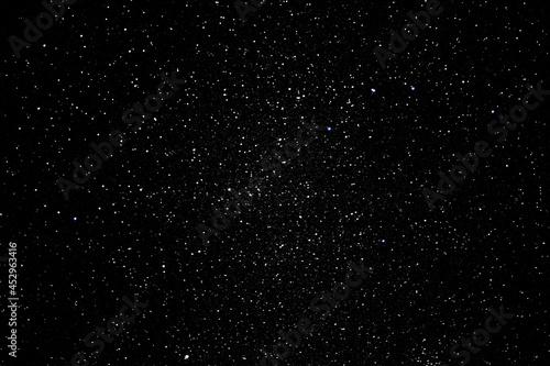 Obraz na plátně Noche acampada fuego estrellas