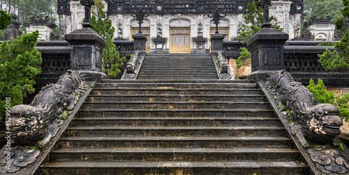 Obraz na plátně Khai Dinh Royal tomb
