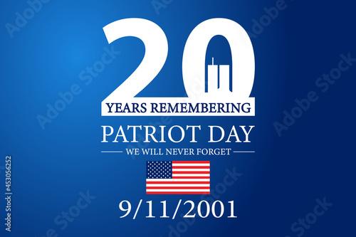 Canvastavla 9 11 Patriot Day 2021
