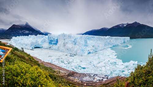 Fotografie, Obraz Giant Perito Moreno Glacier. El Calafate, Patagonia, Argentina.