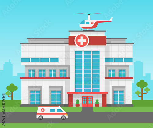 Fotografia Hospital building