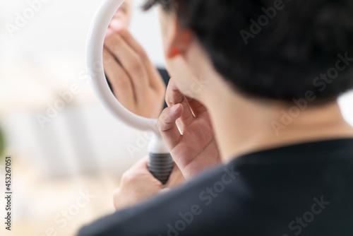 Slika na platnu 髭・男性