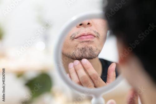 髭・男性 Fototapeta