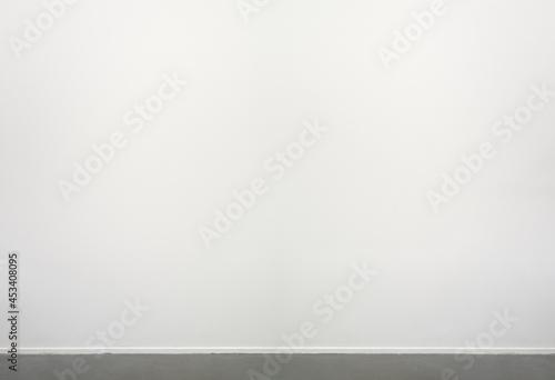 Canvas White Wall