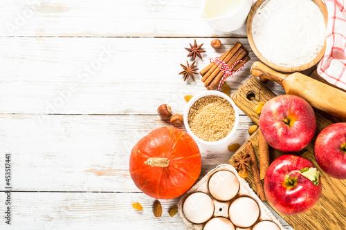 Fotografia Autumn baking background