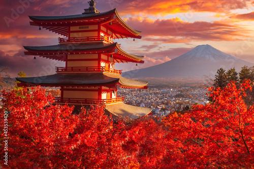 Fotografie, Obraz Japan pagoda
