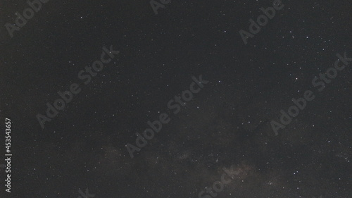 Fotografie, Obraz A picture of a night sky in the south pole with the marvelous mily way appeared