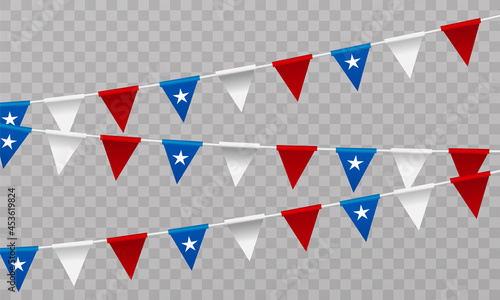 Fotografie, Obraz Chile Independence Day
