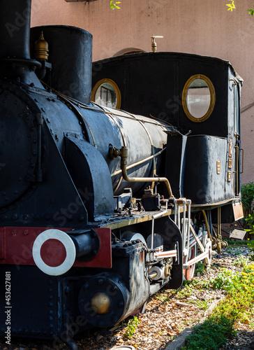 Fotografie, Obraz old steam locomotive