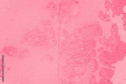 Obraz na płótnie fond ou arrière-plan rose, abstrait, texture de mur de béton coloré, octobre ros