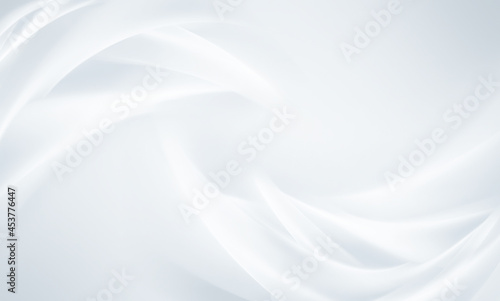 Fotografie, Obraz White background with smooth lines
