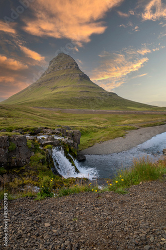 montagna islandese Fototapete