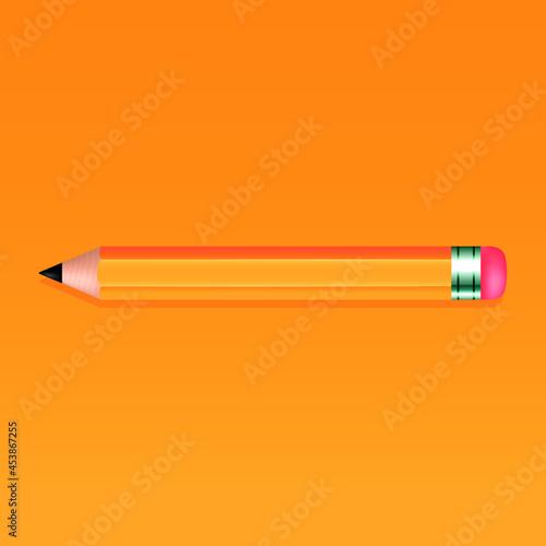 Pencil, Pencils, Pencil vector, Pencil icon, Pencil art. Fototapeta