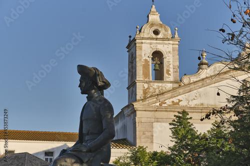Fototapeta statue of Infante D