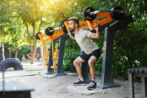 Obraz na plátně Open air gym