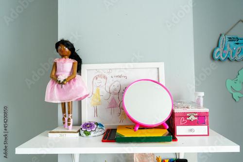Girls dressing table Fototapet