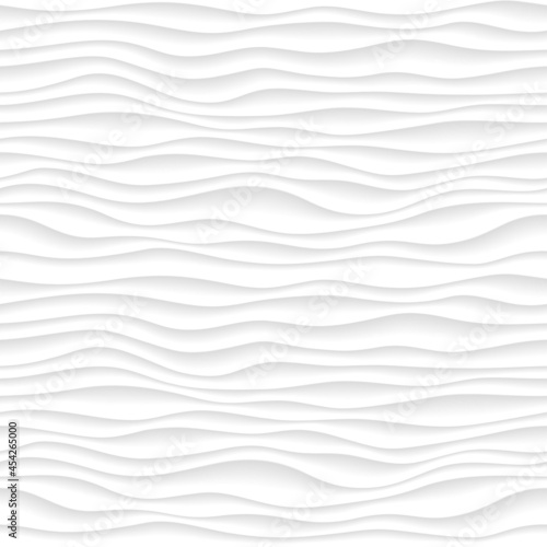 Canvastavla Abstract gradient pattern with volumetrical waves
