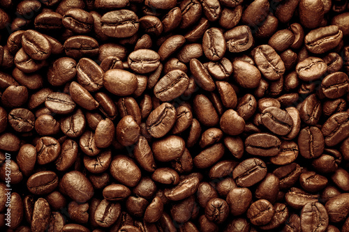 Fotografering coffee beans background