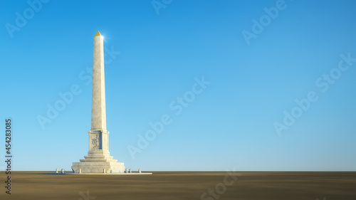 Fotografia Egypt obelisk with space for your content