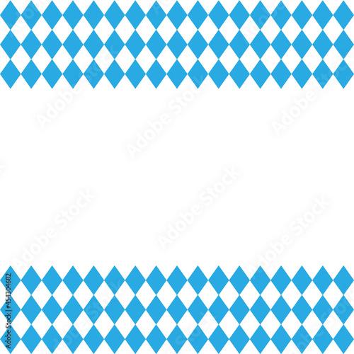 Wallpaper Mural Oktoberfest and Bavarian flag pattern. Vector
