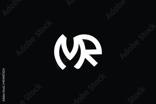 Fotografia MR Letter Logo Design
