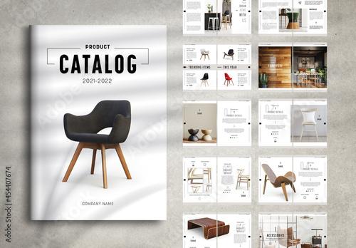 Minimal Product Catalog Layout