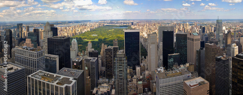Foto New York Skyline and Central park