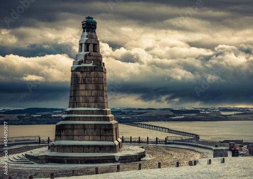 Fotografie, Obraz Dundee Law Monument