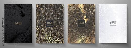 Fotografia Modern cover design set