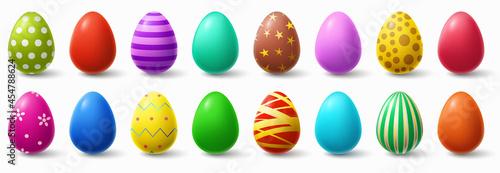 Fotografiet Colorful easter eggs