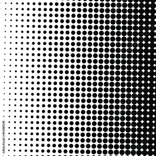 Black halftone background Fototapete