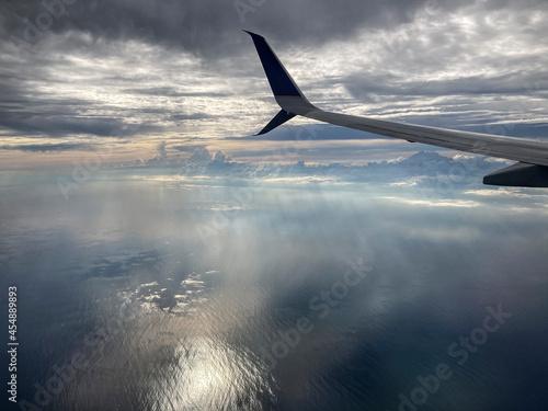 Fotografija tramonto in volo