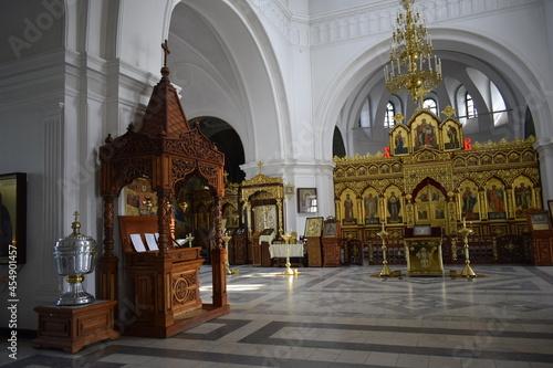 decoration in the Orthodox church Fototapet