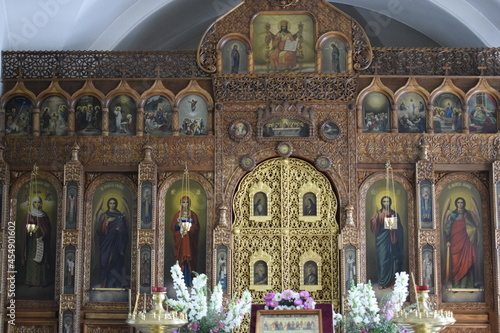 Slika na platnu altarpiece in the orthodox church