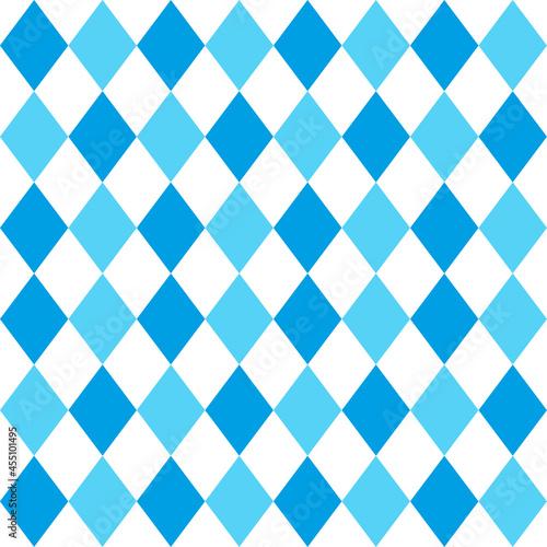 Fotografija Seamless Bavarian rhombic pattern